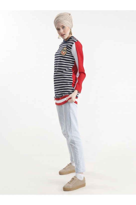 Stripe Sport Tunic