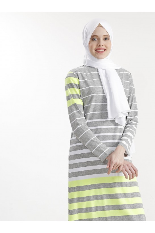 Stripe Neon Dress