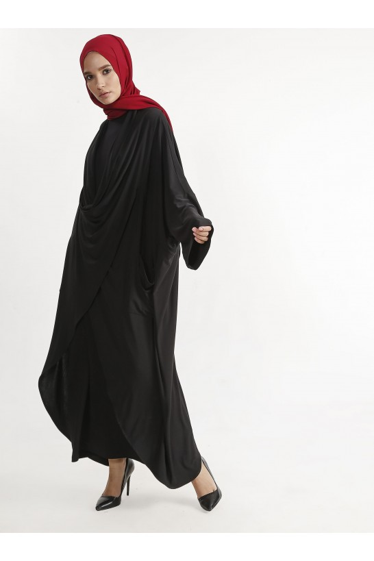 Asymmetric Cutting Abaya