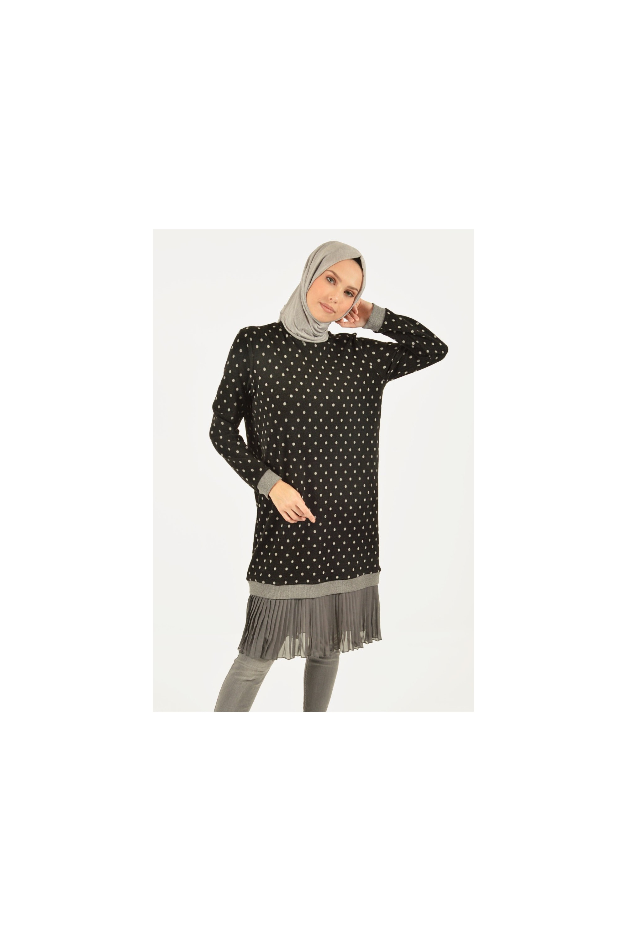 Spotted Knit Tunic
