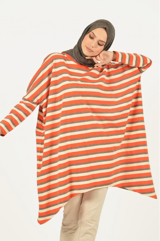 Striped Overize Tunic