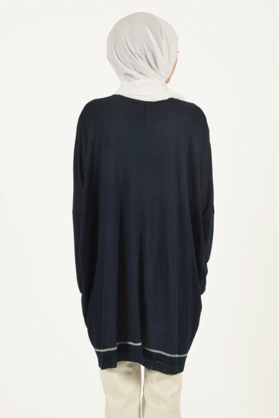 Accessory Detailed Oversize Tunic