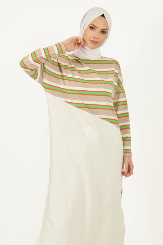 Striped Long Tunic