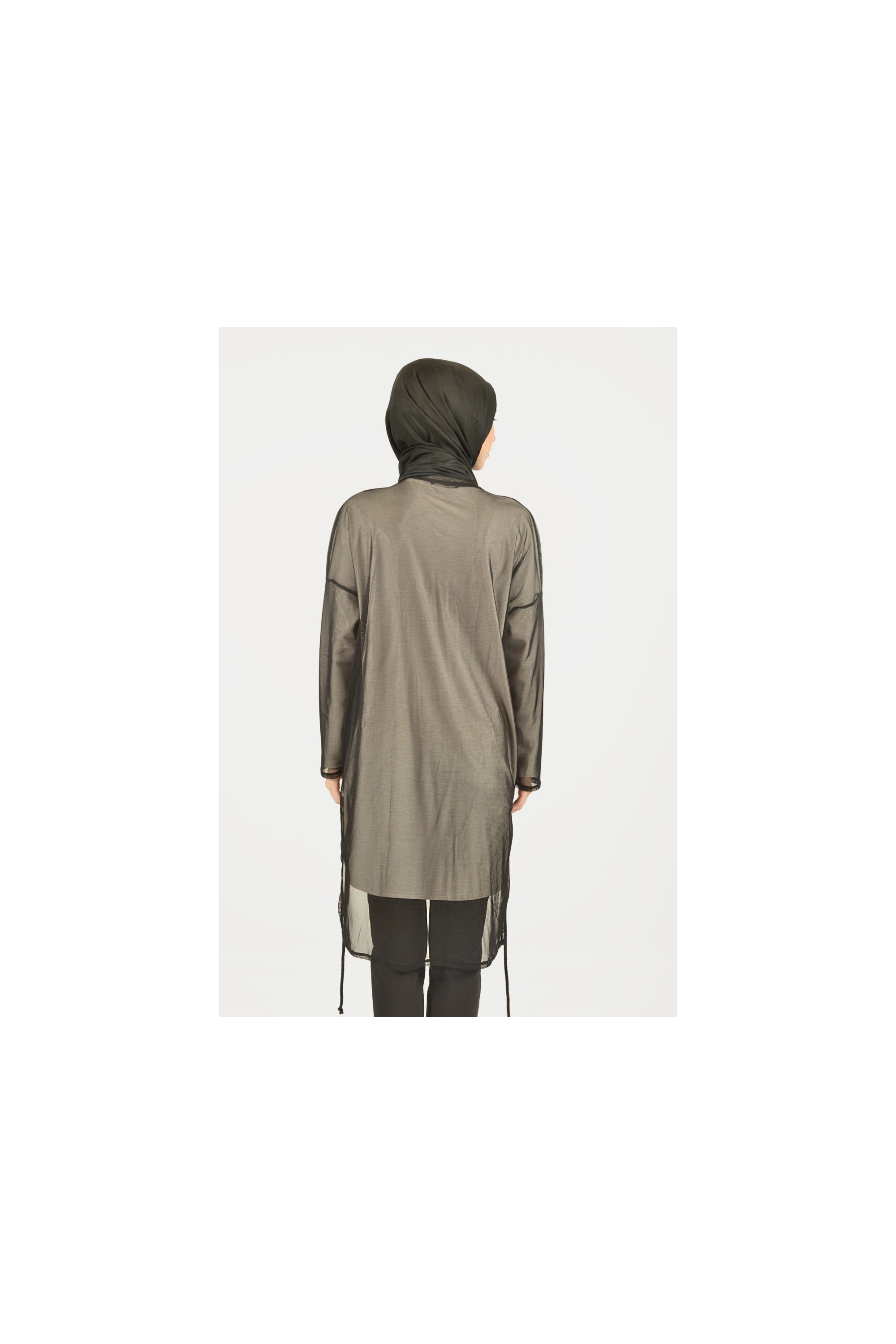 Tülle Detailed Long Tunic
