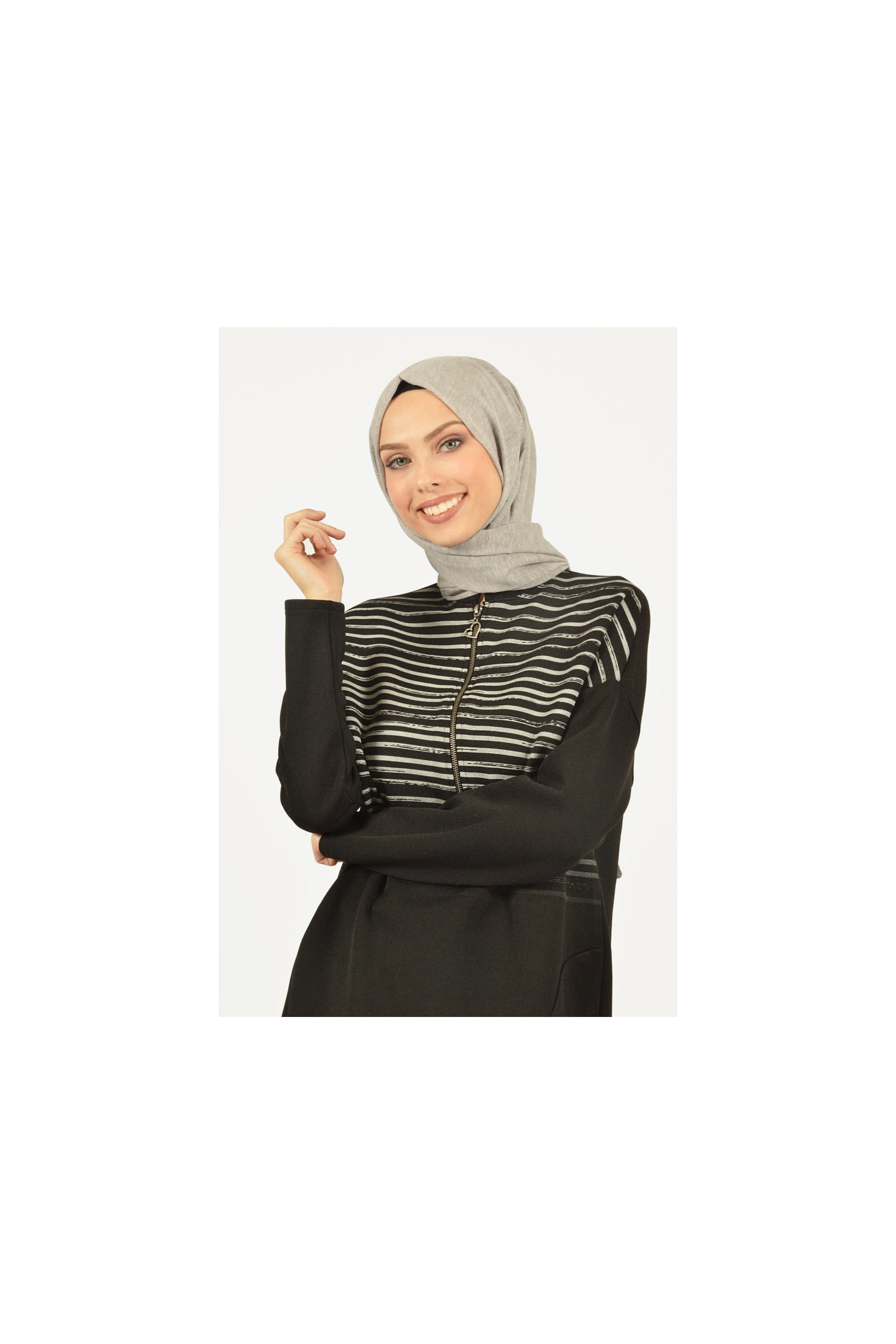 Zippered Detailed Sport Tunic