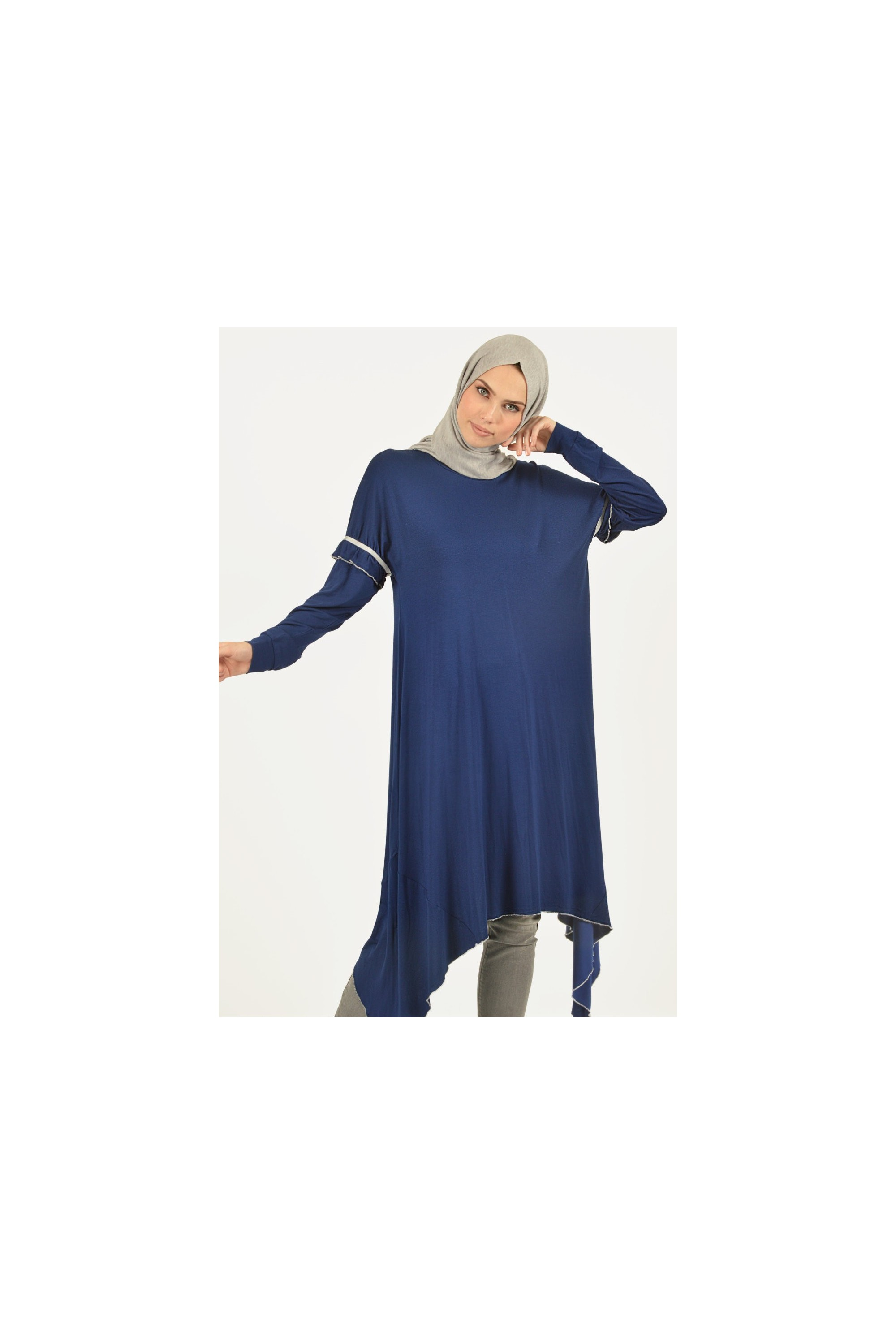 Basic Asymmetric Cut Tunic