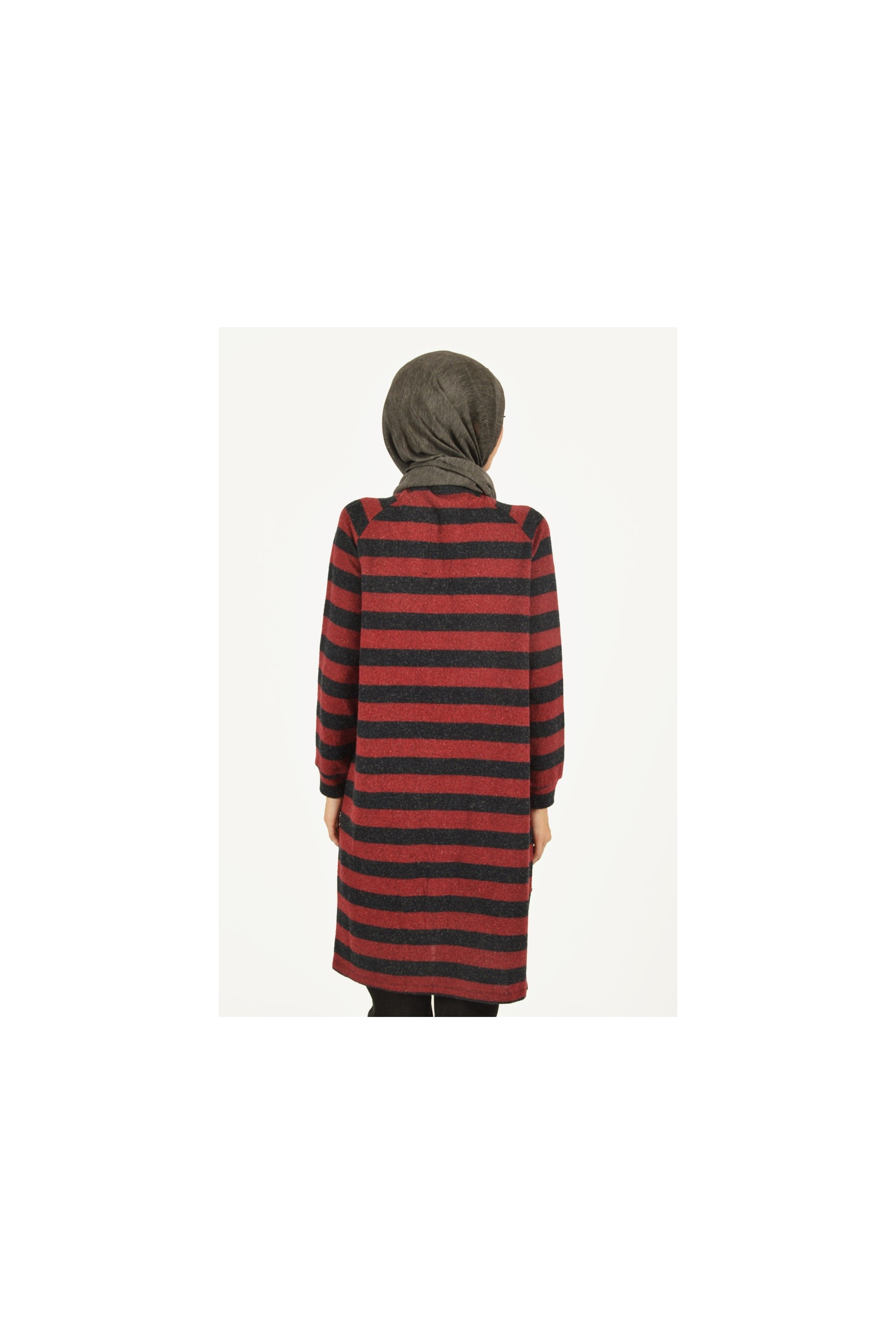 Buttoned Knit Tunic
