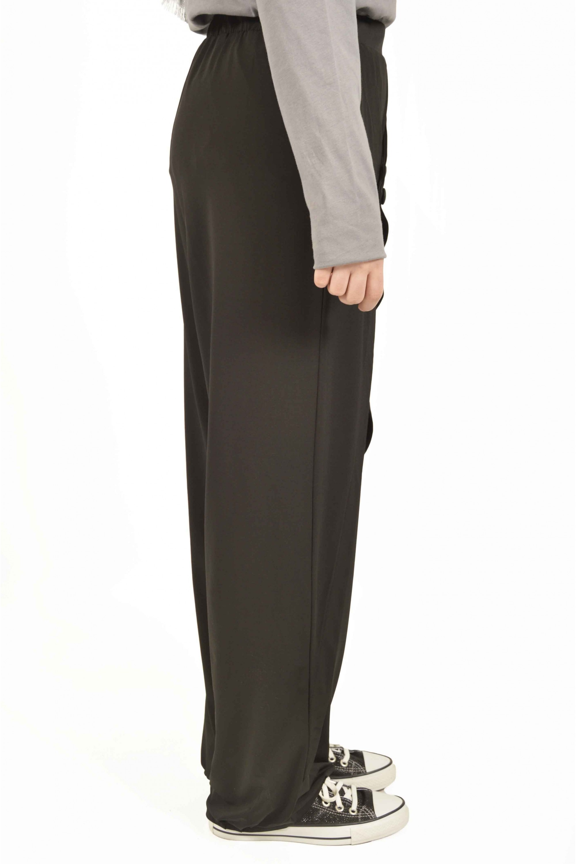 Wide Cutting Pants