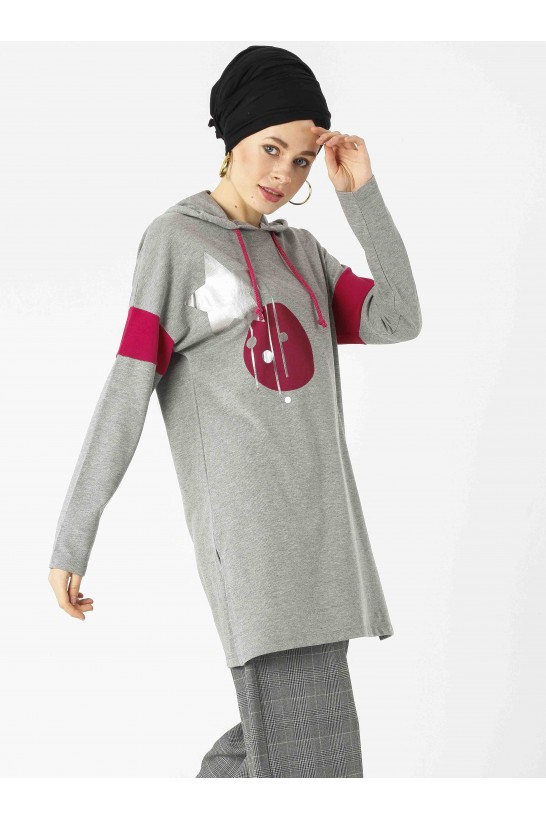 Hooded Sport Tunic