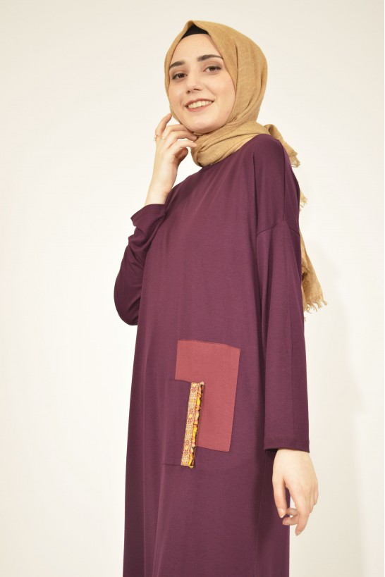 Ethnic Tunic With Tassel Detail