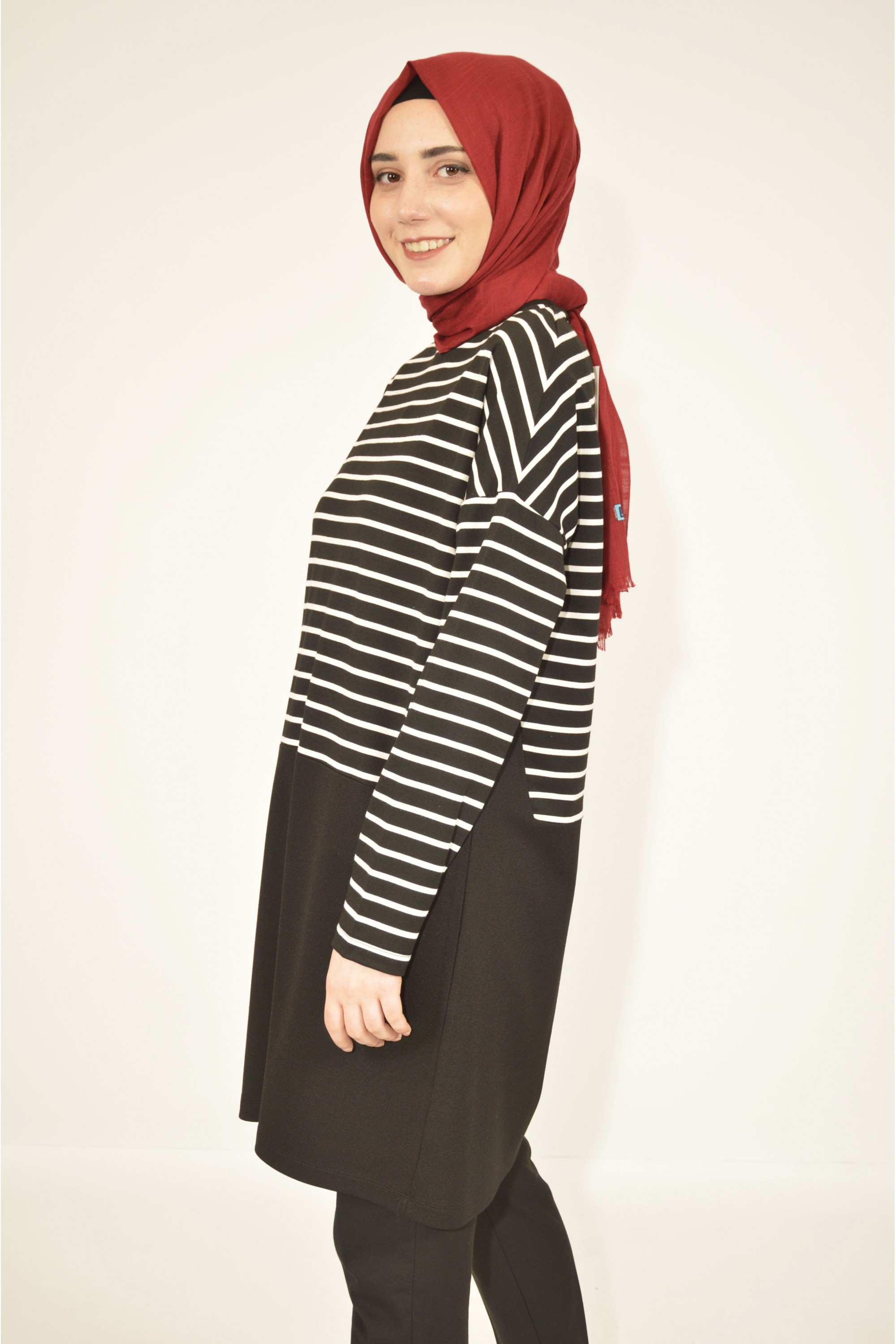 Striped Sports Tunic