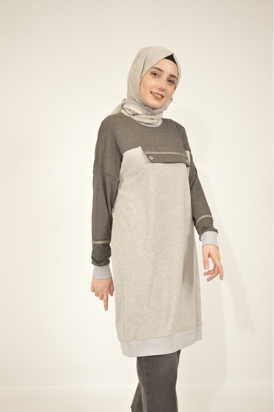 Tunic With Eyelet Detail