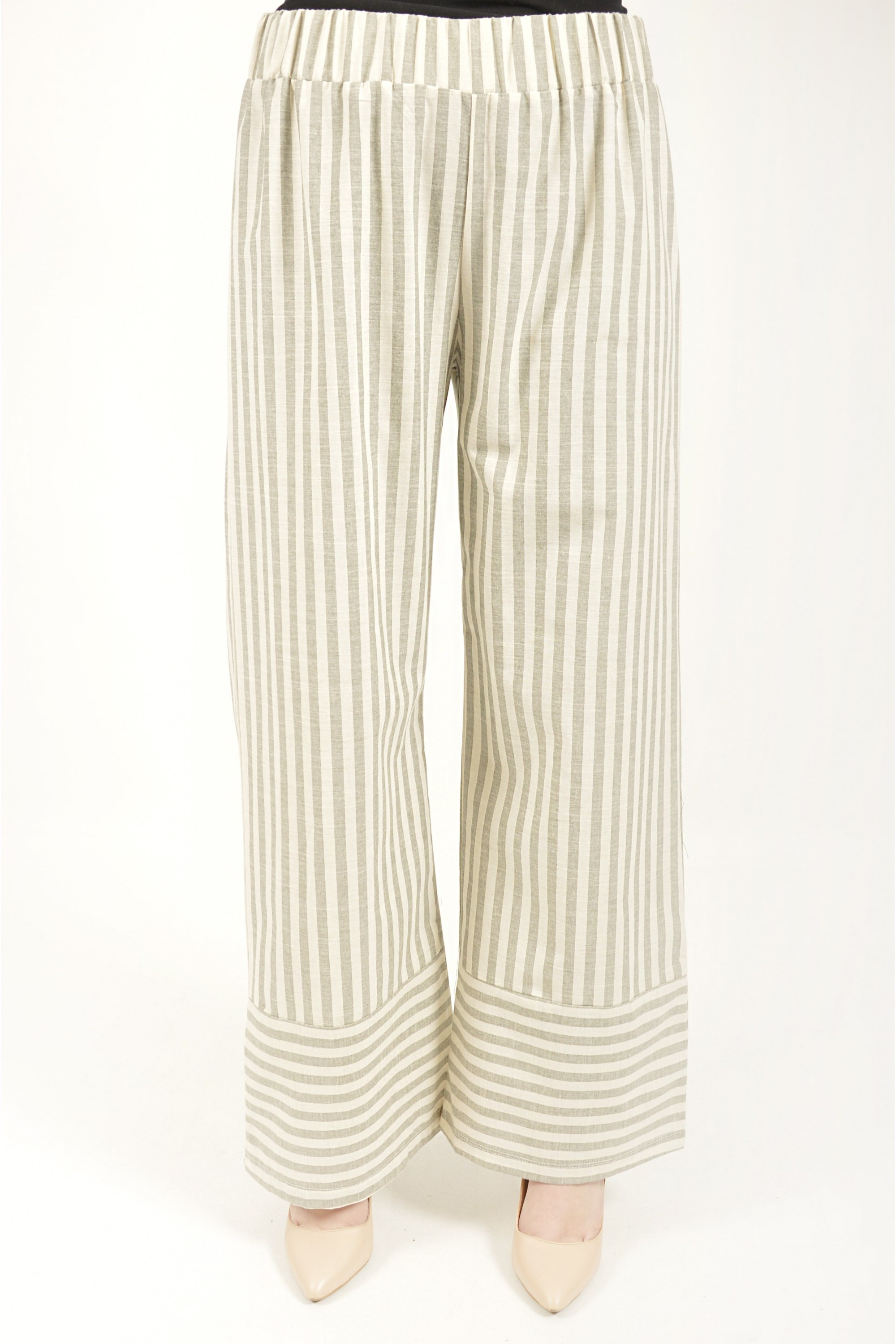 Striped Tunic & Trousers Double Suit