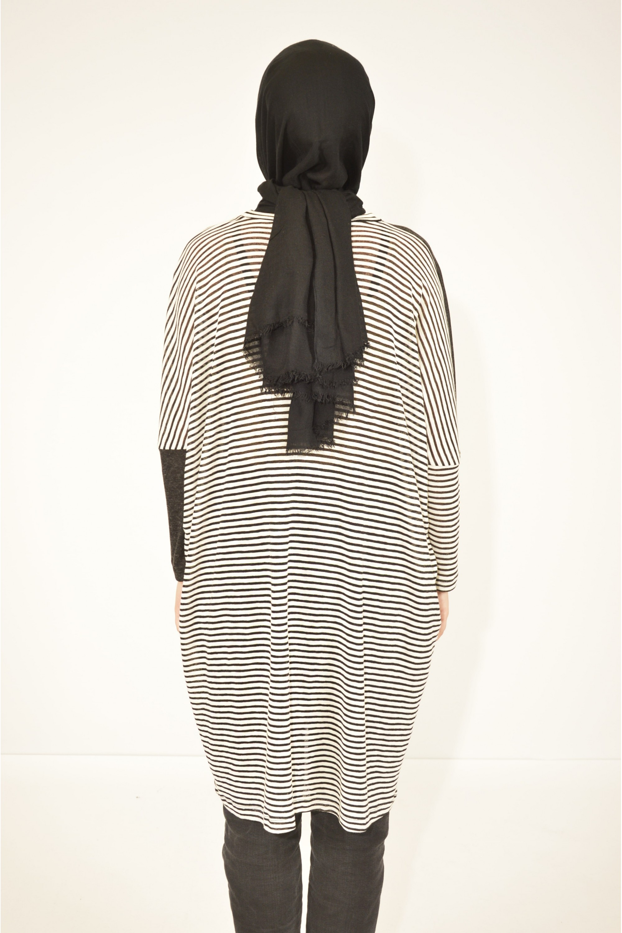 Striped Oversized Tunic