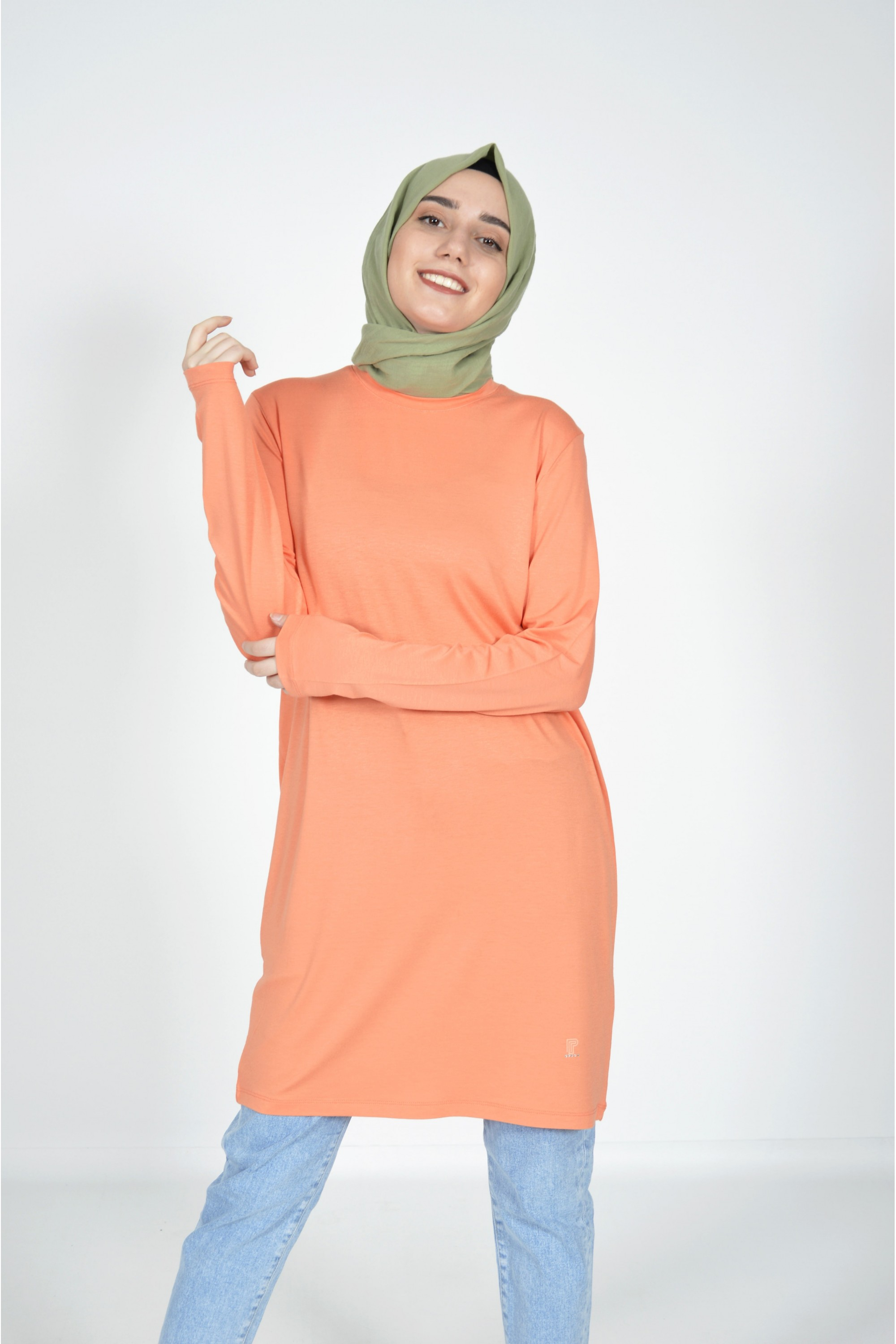 Basic Tunic Orange