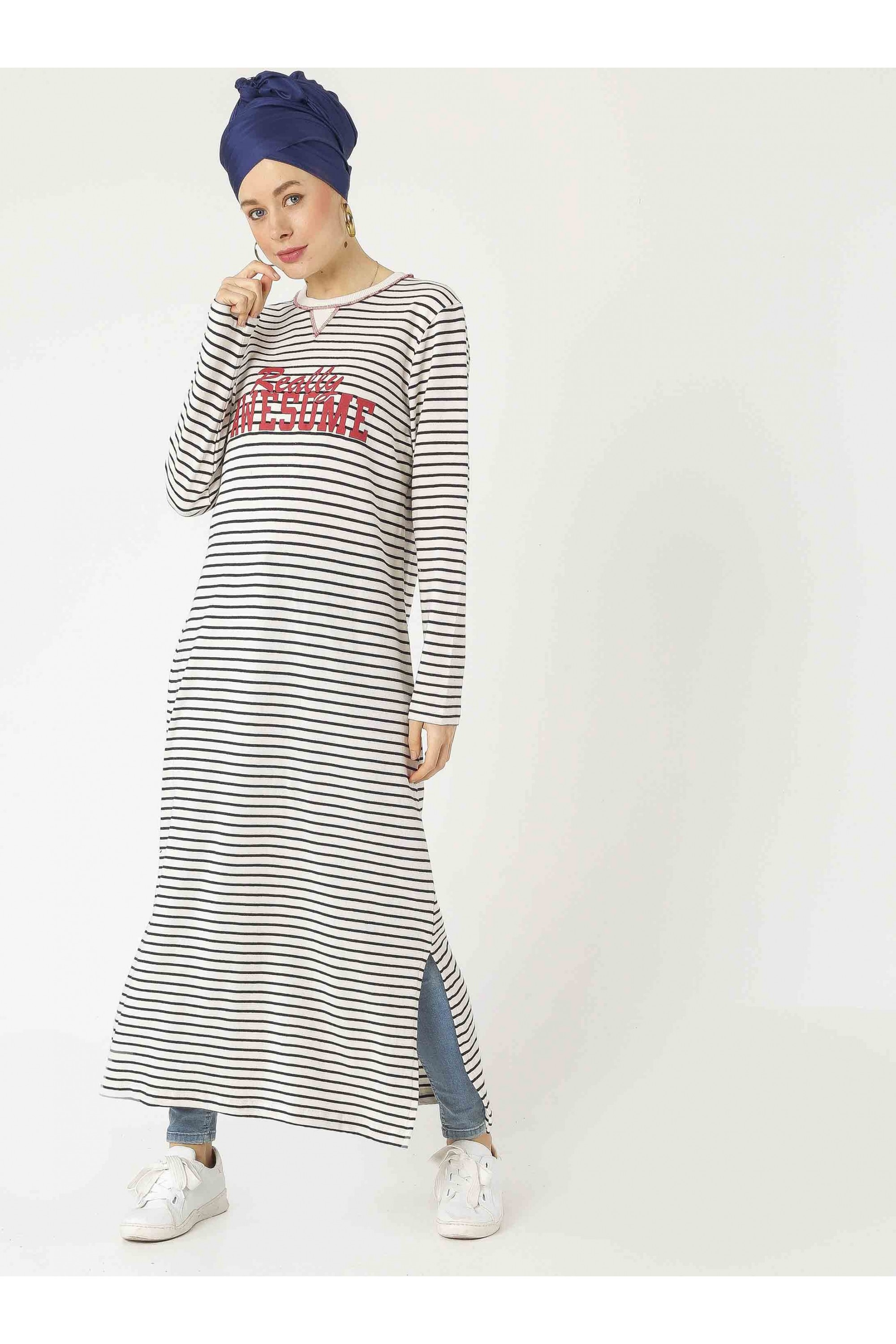 Stripe Long Tunic