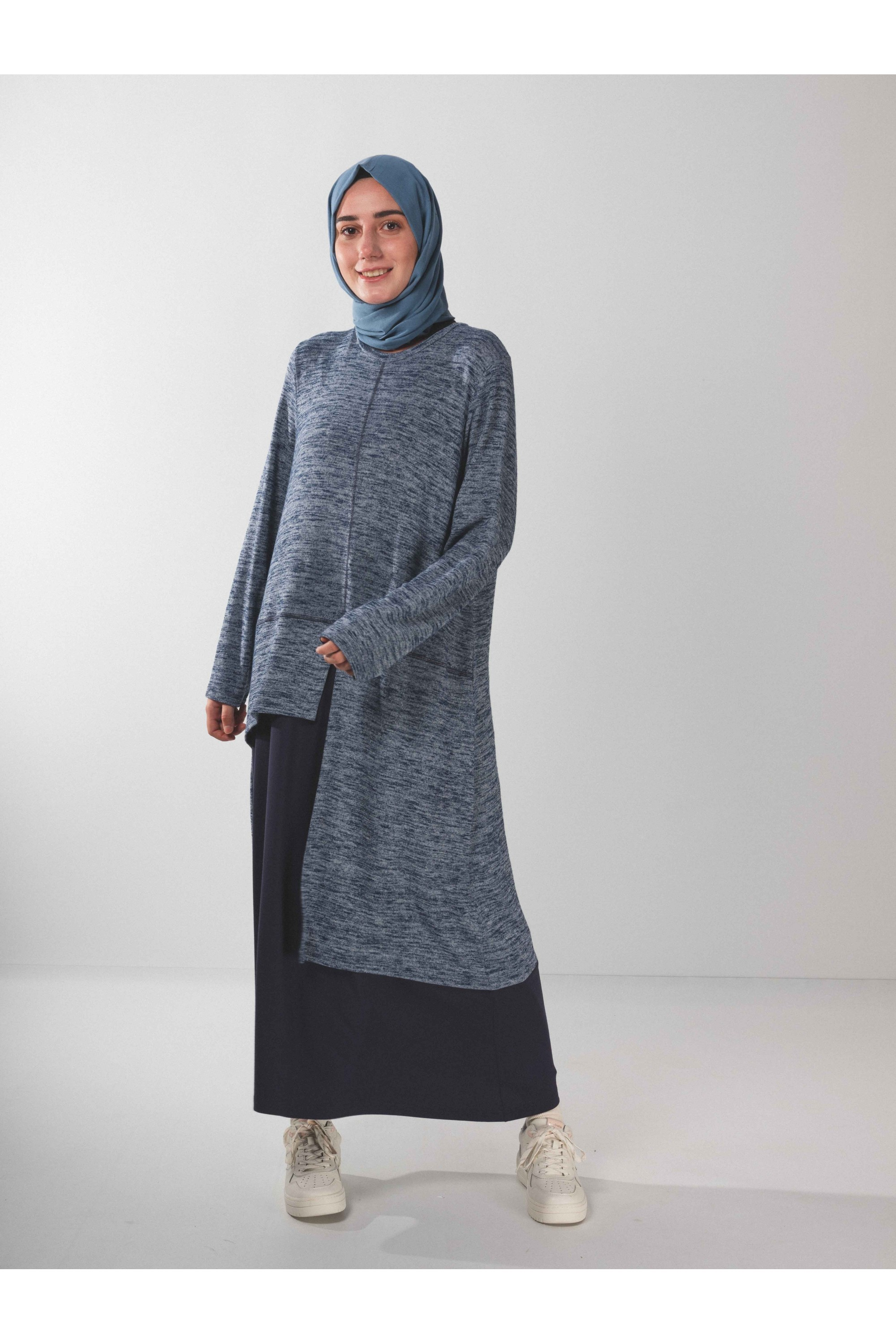 Long Tunic Indigo