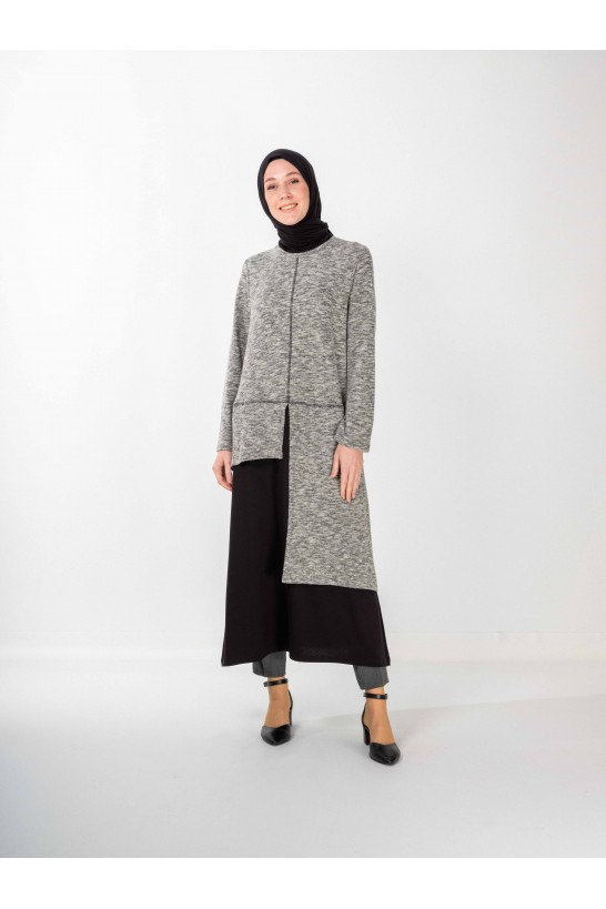 Long Tunic Grey