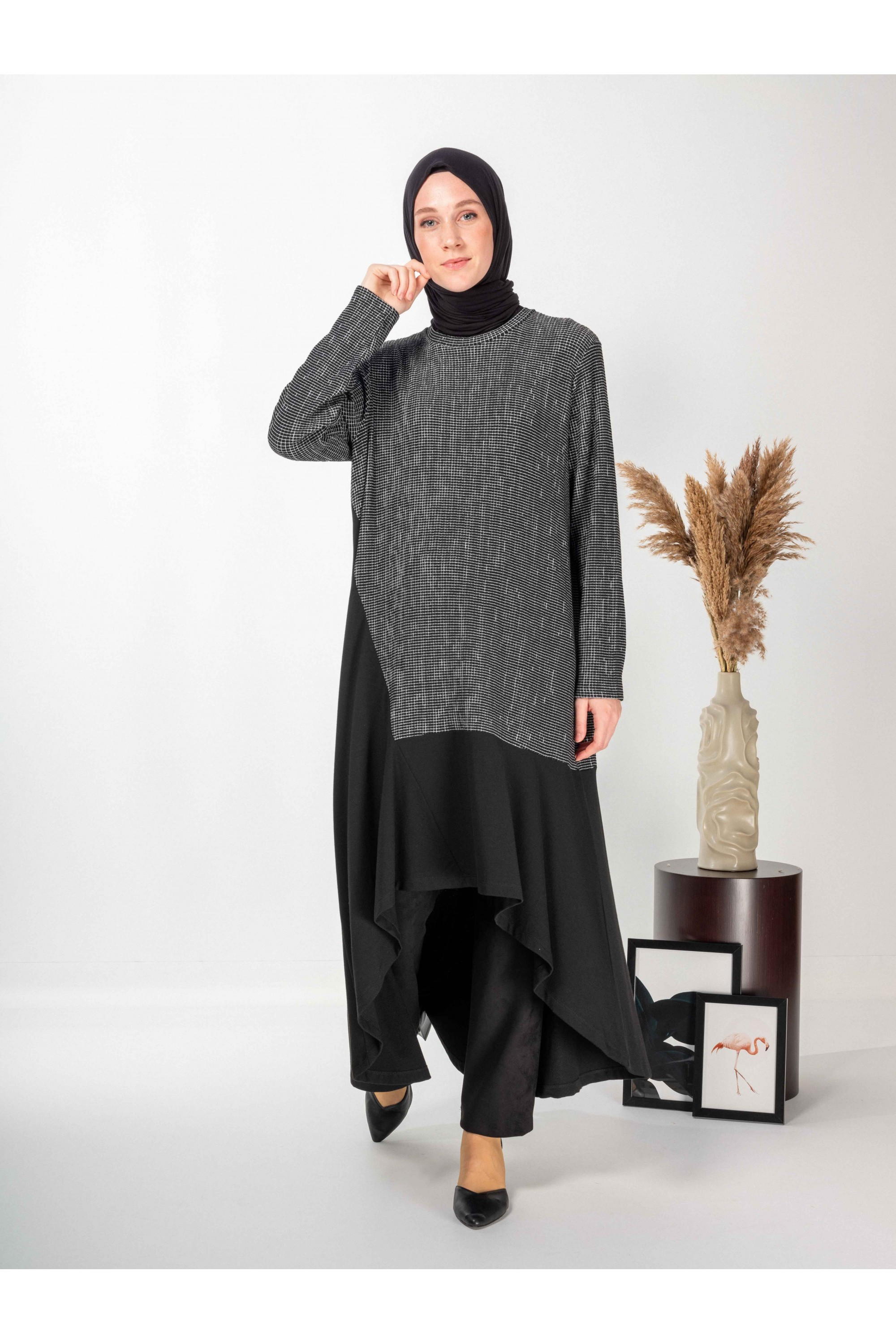 Long Tunic With Flywheel