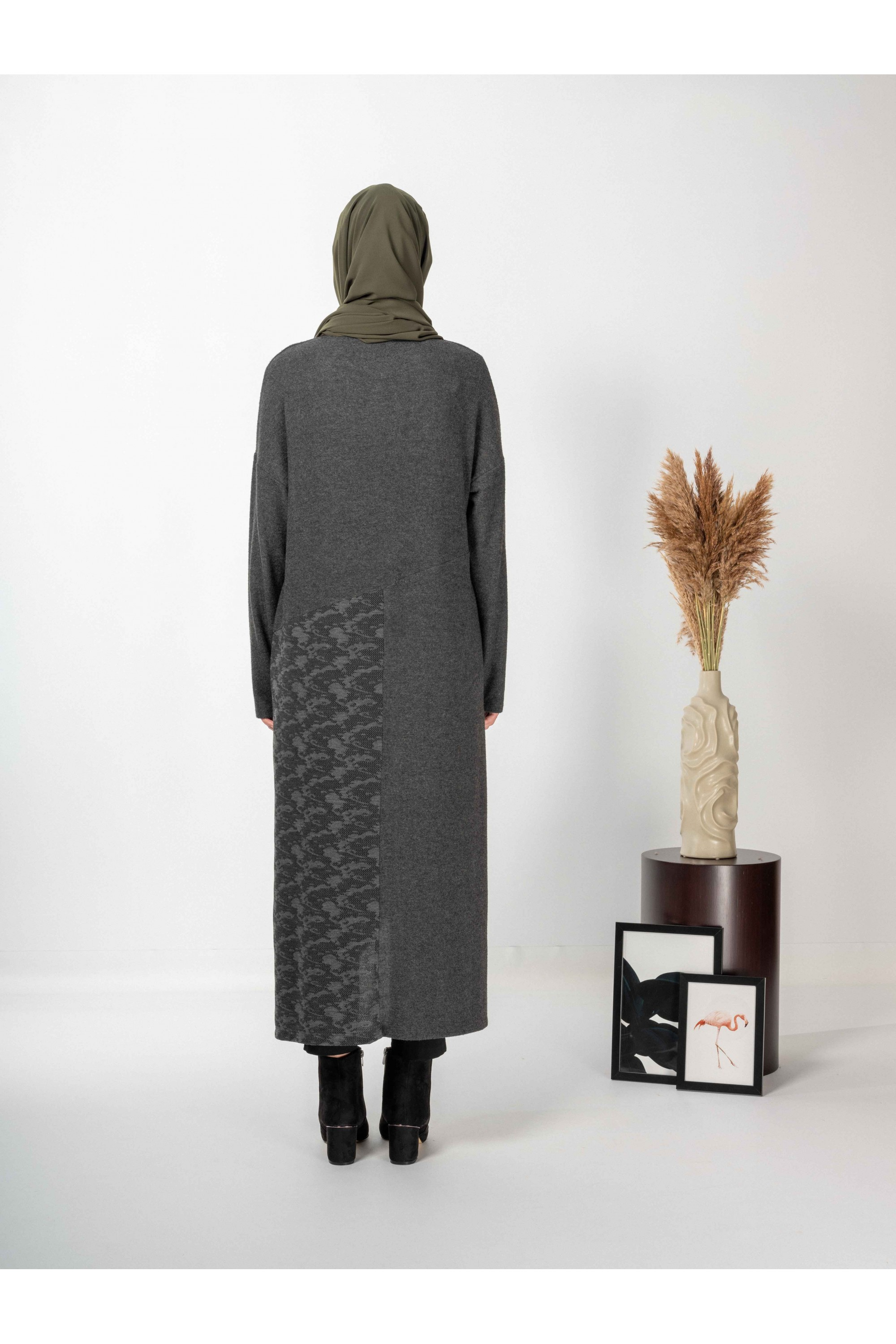 Long Tunic With Patterned Garni