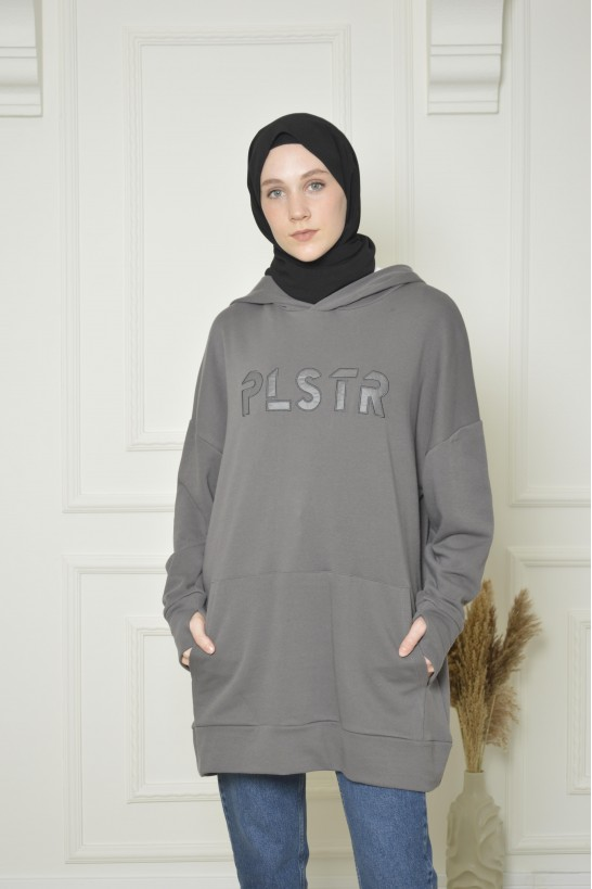 Plistre Embroidered Sweatshirt