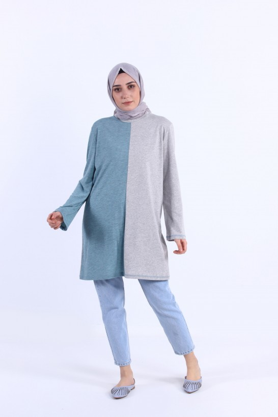 Two Color Stone Tunic