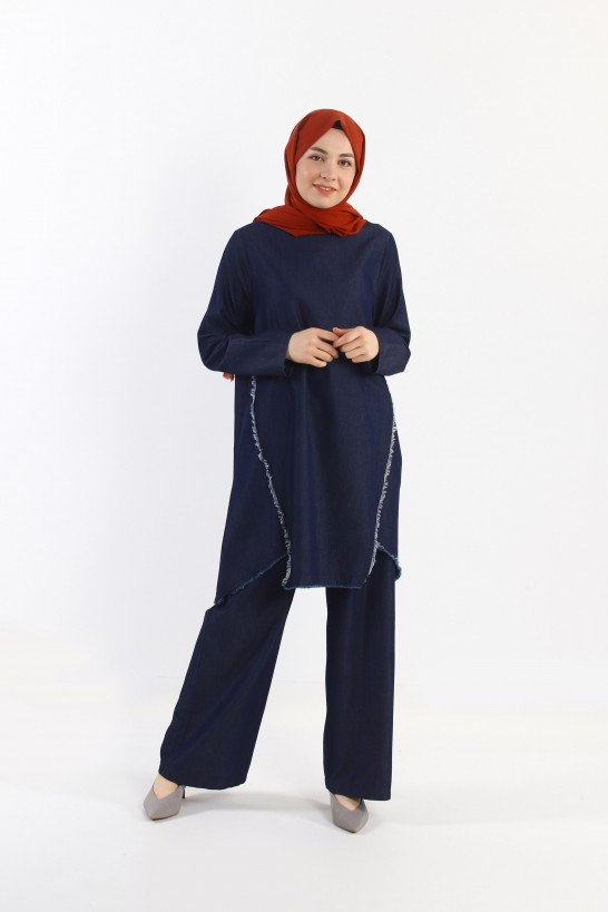 Tencel Tunic & Trousers Set