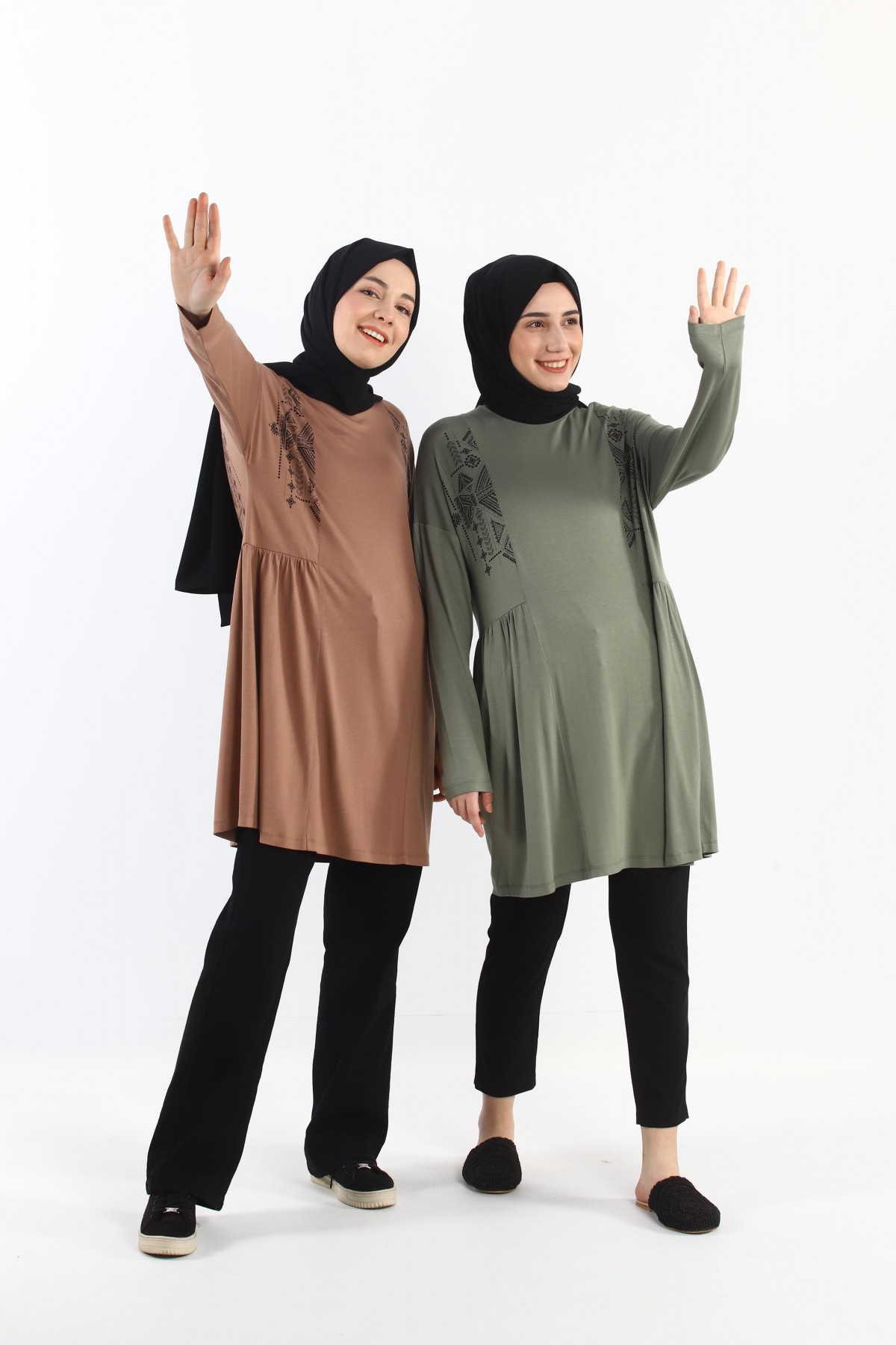 Gathered Oversize Tunic