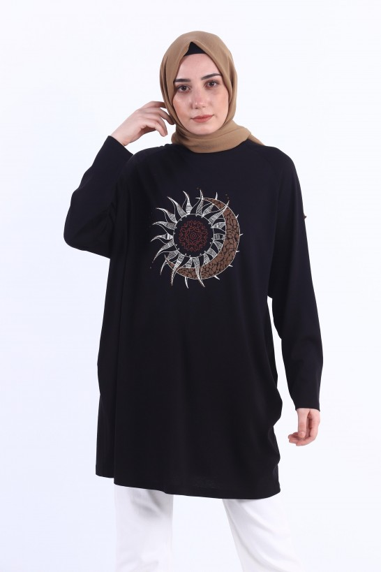 Printed Oversize Tunic