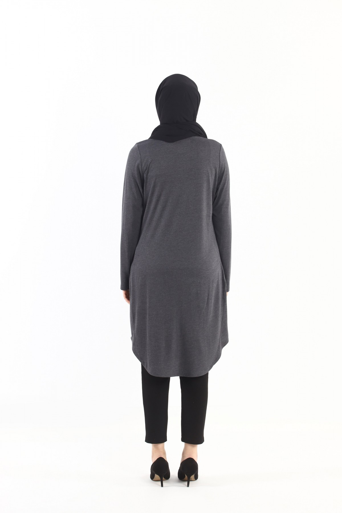 Embroidered Stony Long Tunic