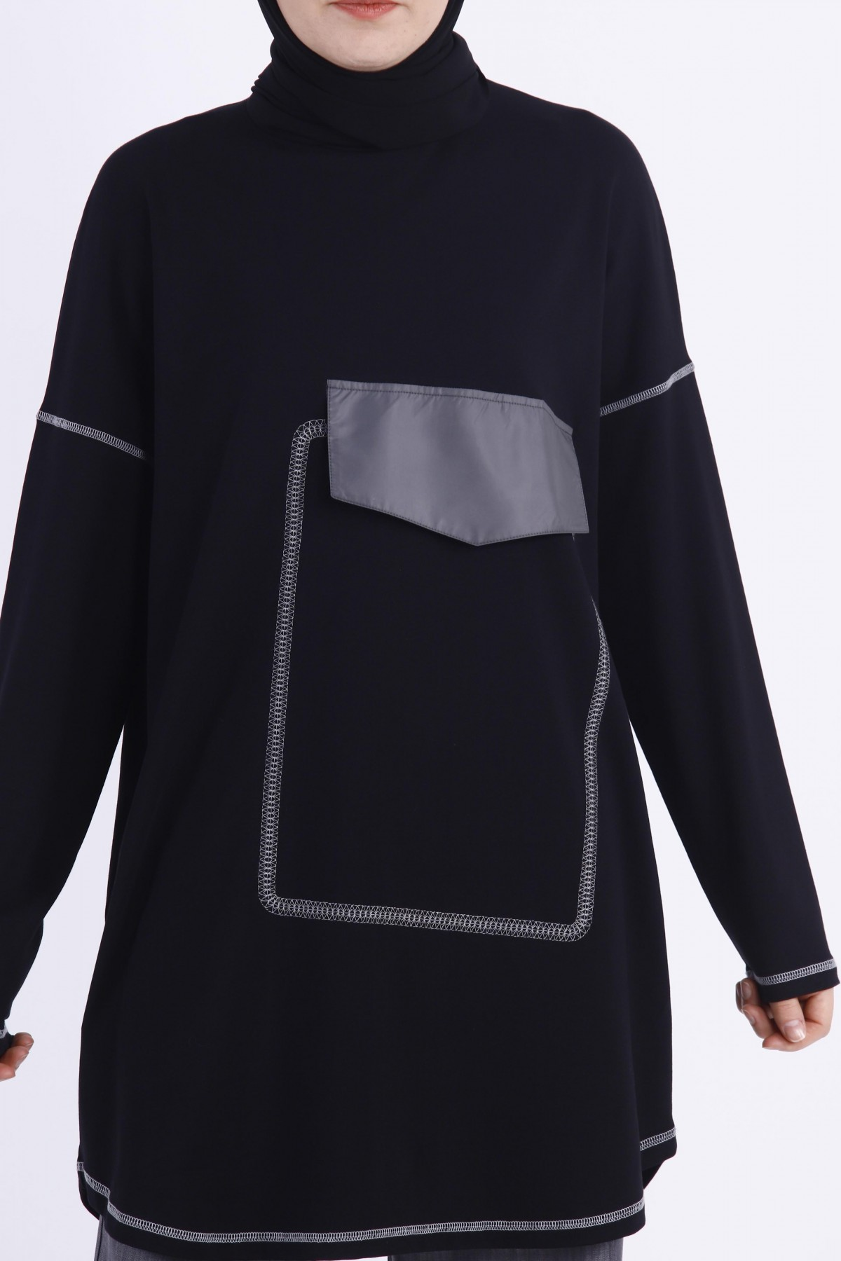 Embroidered Oversize Tunic