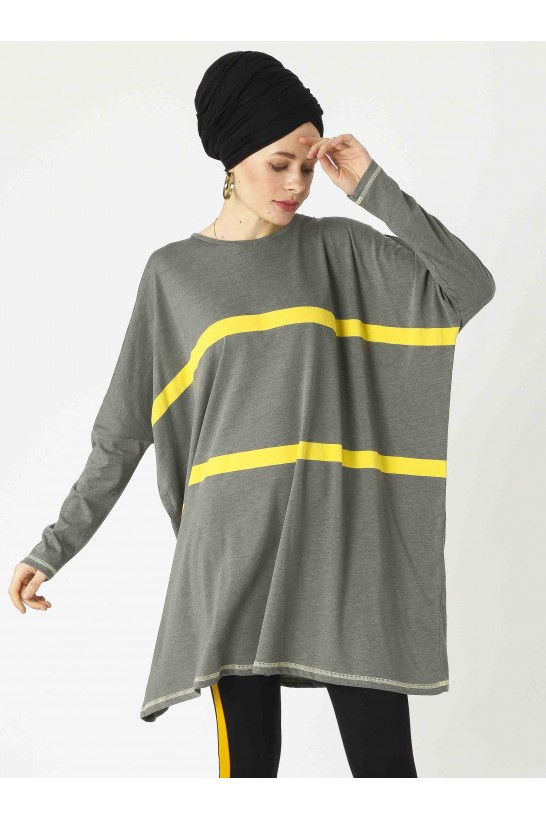 Striped Oversize Tunic
